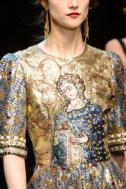 Dolce Gabbana Byzantine.