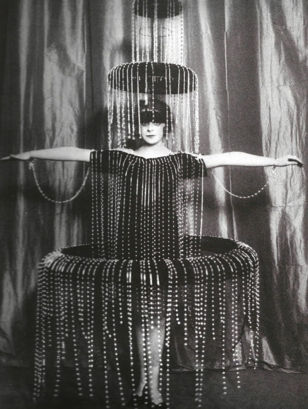 Luisa Casati Fountain Dress.