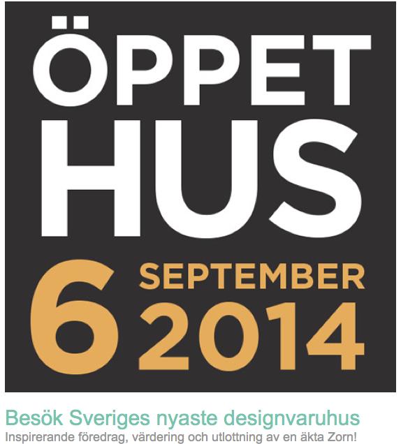 Besök Sveriges nyaste designvaruhus