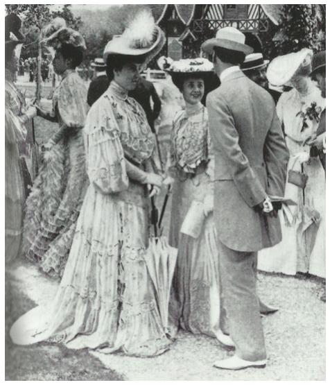 Mode- och klädhistoria: Kvinnans påklädning vid sekelskiftet