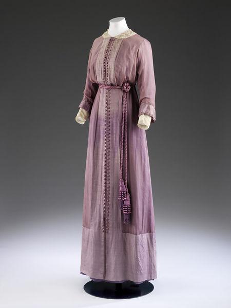 1910s fashion, 1912.