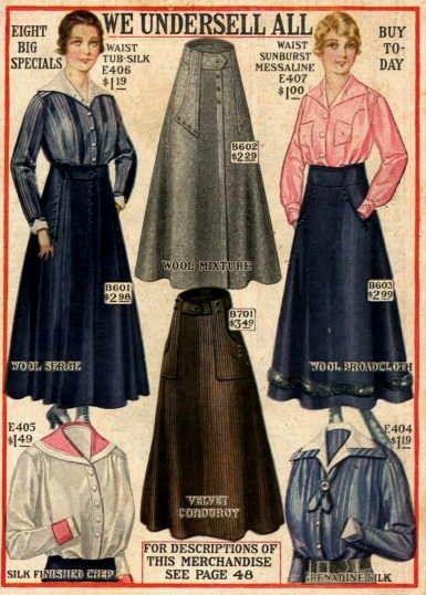 1910s fashion. 1916. world war one fashion.