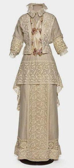 Edwardian fashion 1910-1912