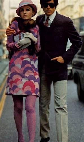 Mode- och Klädhistoria: 1960-talet