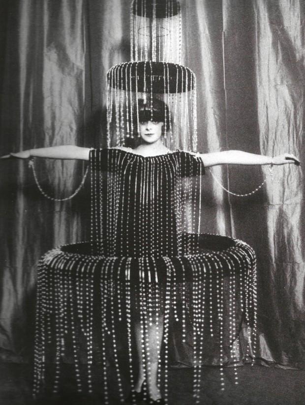 Luisa Casati Fountain Dress.