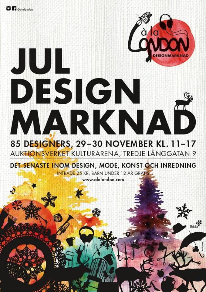 Designjulmarknad 2014 i Göteborg