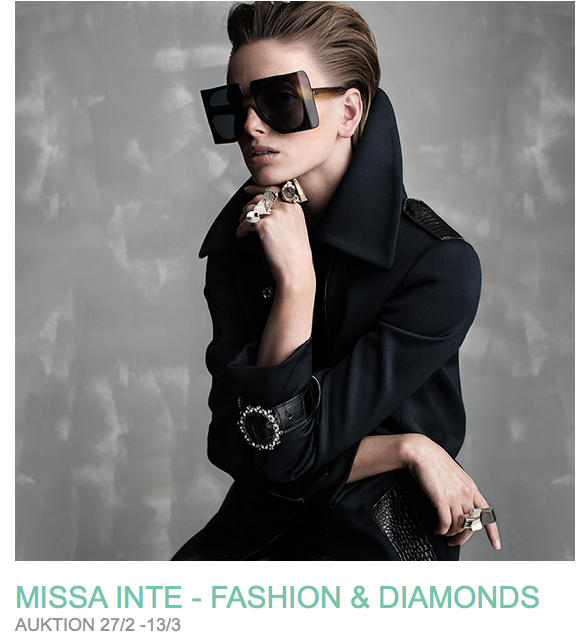 Fashion & Diamonds på Bukowskis market